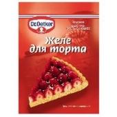 Желе для торта Д-р Оеткер (Dr. Oetker)  красное – ИМ «Обжора»