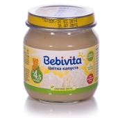 Пюре Бебивита (Bebivita) Цветная капуста 100 г – ИМ «Обжора»