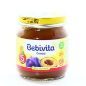 Пюре Бебивита (Bebivita) Слива 100 г – ИМ «Обжора»