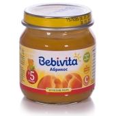 Пюре Бебивита (Bebivita) Абрикос 100 г – ИМ «Обжора»