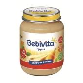 Пюре Бебивита (Bebivita) Груша 100 г – ИМ «Обжора»