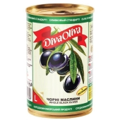 Маслины Дива олива (Diva Oliva) с косточкой 300 гр. – ИМ «Обжора»