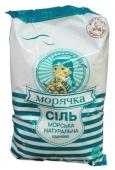 Соль Морячка морская пищевая 1кг Новинка – ИМ «Обжора»