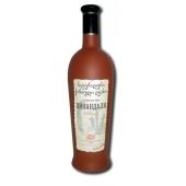 """Вино грузинское D&T """"Цинандали"""" 0,75 л. белое керамическая бутылка – ИМ «Обжора»"""