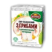Сыр плавленый Комо с грибами 55% 90 г – ИМ «Обжора»