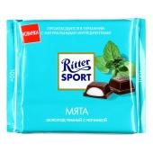 Шоколад Риттер мятный 100 г – ИМ «Обжора»