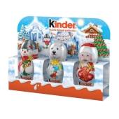 """Шоколад Киндер """"Дед мороз"""", 45 г Т-3 – ІМ «Обжора»"""