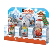 "Шоколад Киндер ""Дед мороз"", 45 г Т-3 – ИМ «Обжора»"