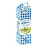 Молоко Селянское особое 2.6% 1 л – ИМ «Обжора»