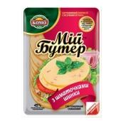 Сыр плавленый Комо с кусочками ветчины 45% 150 г – ИМ «Обжора»