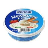 Сыр Маскарпоне Занетти (Zanetti) 80% 250 г – ИМ «Обжора»