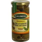 Оливки Калимера (KALIMERA) Джалапено пикантные 260 гр. – ИМ «Обжора»