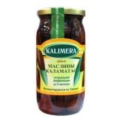 Маслины Калимера (KALIMERA) Каламатас большие 370 гр. – ИМ «Обжора»