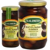 Оливки Калимера (KALIMERA) натуральные гигант в морской соли 370 гр. – ИМ «Обжора»
