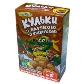 Кукурузные шарики  Золотое Зерно со сгущенкой 75 г – ИМ «Обжора»