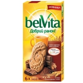 Печенье Бельвита (BelVita) шоколад 300 г – ИМ «Обжора»