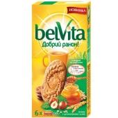 Печенье Бельвита (BelVita) мед орехи 300 г – ИМ «Обжора»