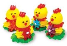 Набір декорацій Добрик Кумедні курчата – ІМ «Обжора»