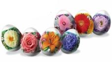 Термоэтикетка для пасхальных яиц Приправка Праздничный букет – ИМ «Обжора»