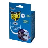 Фумигатор Рейд (RAID) с пластинками Блистер 10 шт – ИМ «Обжора»