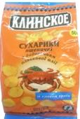 Сухарики Клинское пшеничные краб 50 г – ИМ «Обжора»