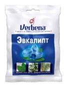 Льодяники Verbena 60 г Евкаліпт, м`ята, сосна – ІМ «Обжора»