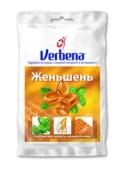 Льодяники Verbena 60 г Імбир, мед, лимон – ІМ «Обжора»