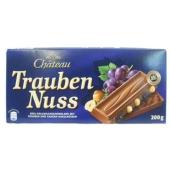Шоколад Шато (Chateau) изюм/орех 200г – ИМ «Обжора»