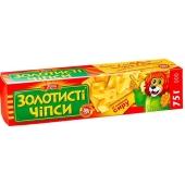 "Чипсы Жайвир ""Золотистые"" сыр 75 гр. – ИМ «Обжора»"