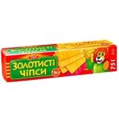 """Чипсы Жайвир """"Золотистые"""" классика 75 гр. – ИМ «Обжора»"""
