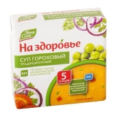 """Суп Тетя Соня """"На здоровье"""" гороховый брикет 180 гр. – ИМ «Обжора»"""