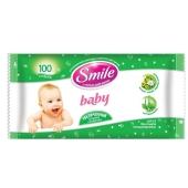 Салфетки Смайл (Smile) Baby влажные 100 шт. (home-формат) – ИМ «Обжора»