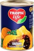 Папая в сиропе Тропик Лайф (TROPIC Life) 580 мл – ИМ «Обжора»