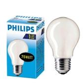 Лампочка Philips GLS 75W E27 матова – ІМ «Обжора»