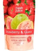 Жидкое мыло Фреш Джус (FRESH JUICE) Strawberry & Guava 460 мл. – ИМ «Обжора»