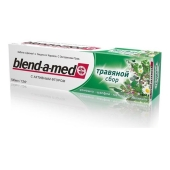 "Зубная паста Бленд а мед (BLEND-A-MED) ""Травяной сбор"" 100 мл. – ИМ «Обжора»"