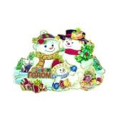 Наклейка Снеговик – ИМ «Обжора»