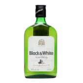 Виски Блэк & Вайт (Black & White) 400 мл 40% – ИМ «Обжора»