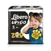 Подгузники-трусики Либеро (Libero)  Up&Go 5 Maxi Plus (10-14 кг) 16 шт – ИМ «Обжора»