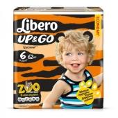 Подгузники-трусики Либеро (Libero) Up&Go 6 XL ( 13-20 кг.) 14 шт. – ИМ «Обжора»