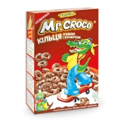 Кукурузные подушечки Золотое зерно MR. CROСO какао/кунжут 100 г – ИМ «Обжора»