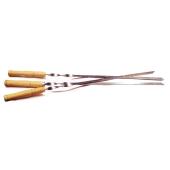 Шампур с деревянной ручкой – ИМ «Обжора»