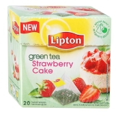 Чай Липтон Fruit Strawberry Cupcake 20п*2г – ИМ «Обжора»