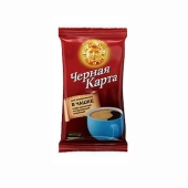Кофе Черная карта молотый для чашки 75 г – ИМ «Обжора»