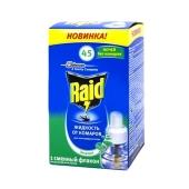 Жидкость JON Рейд (RAID) запаска для фумигатора эвкалипт 45 ночей – ИМ «Обжора»