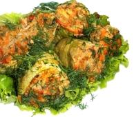 *Кабачки фаршированные курицей и овощами – ИМ «Обжора»