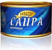 Сайра Экватор 240 г натуральная (консерва) – ИМ «Обжора»