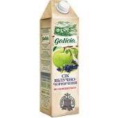 Сок Галичия (Galicia) яблочно-черничный неосвет. 1 л. – ИМ «Обжора»
