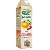 Сок Галичия (Galicia) яблочно-вишневый неосвет. 1 л. – ИМ «Обжора»
