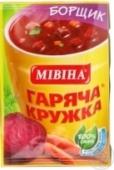 Суп Мивина 14г Борщик – ИМ «Обжора»